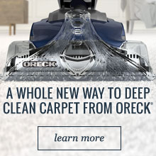 Revitalize - A whole new way to clean carpet from Oreck. - Learn More