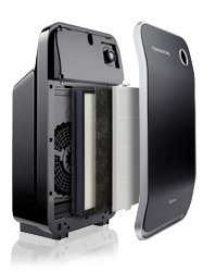 Oreck Air Instinct 75 air purifier expanded view