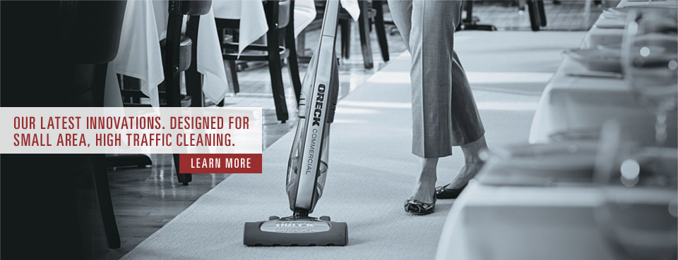 Commercial Vacuums by Oreck