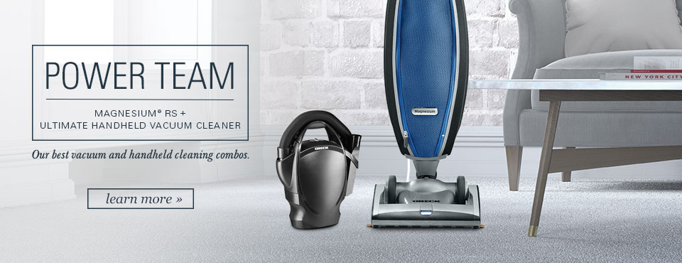 Upright Powerteam Combo Vacuums from Oreck